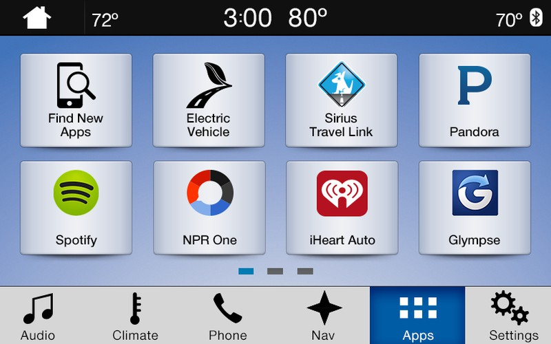 SYNC3 with AppLink on a Ford
