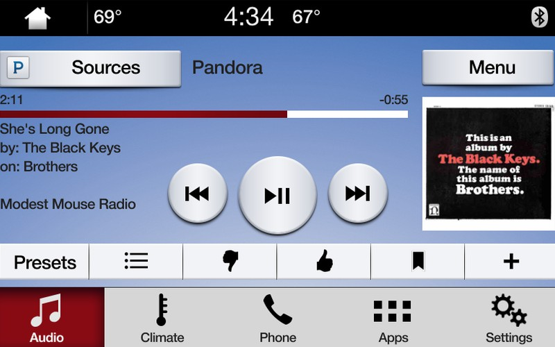 Pandora on SYNC 3