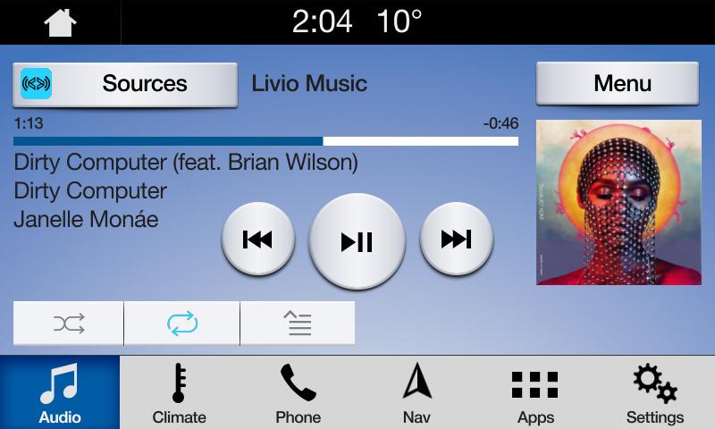 Livio Music Screenshot