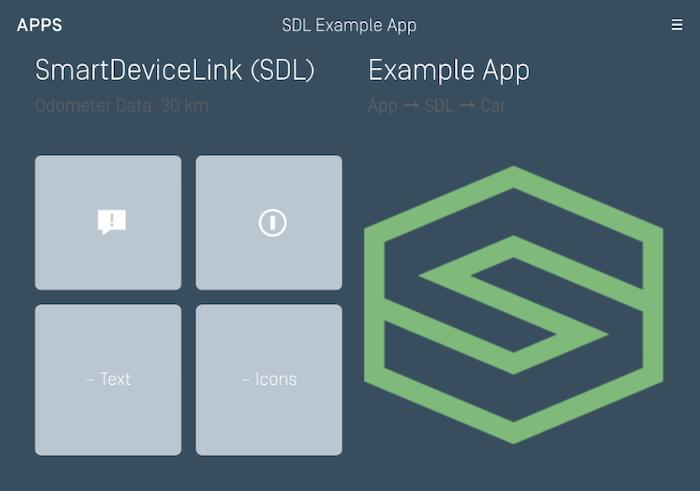 Generic - SDL App Main Screen