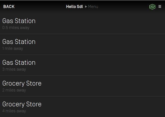 Menu with duplicate titles RPC 7.1+
