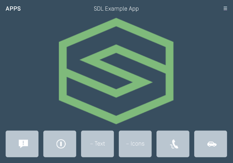 Generic - Large Graphic with Softbuttons