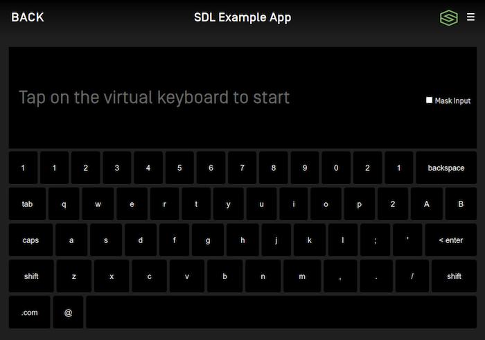 Keyboard Search
