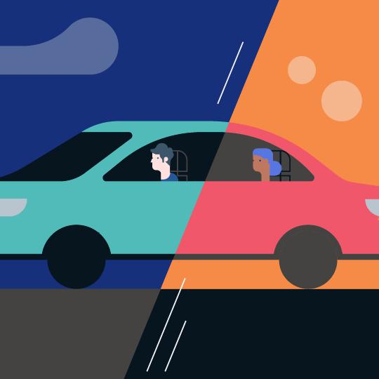 Ride Sharing Scenario 3